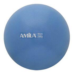 Μπάλα Γυμναστικής Υψηλής Αντοχής Amila 19εκ. Μπλε