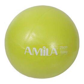 Μπάλα Πιλάτες Amila 25εκ. Πράσινη