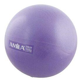 Μπάλα Γυμναστικής Υψηλής Αντοχής Amila 25εκ. Μωβ