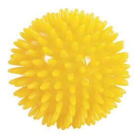 Μπαλάκι με Ακίδες για Μασάζ 8εκ. Κίτρινο