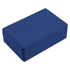 Τουβλάκι Γιόγκα Amila 7,6x15x23εκ. Μπλε