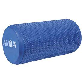 Foam Roller Amila Φ15x30εκ. Μπλε