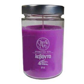 Αρωματικό Κερί Λεβάντα 37cl CandleArt