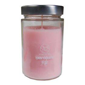 Αρωματικό Κερί Τριαντάφυλλο 37cl CandleArt