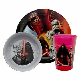 Παιδικό Σετ Φαγητού Μελαμίνη Star Wars EP7 Mixed
