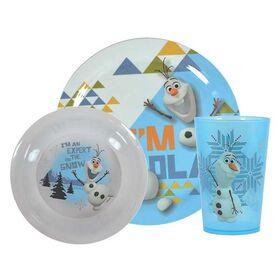 Παιδικό Σετ Φαγητού Olaf (Frozen)
