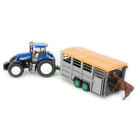 Τρακτέρ New Holland T8040 με Καρότσα για Αγελάδες Bruder