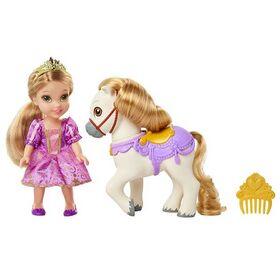 Κούκλα Ραπουνζέλ με Πόνυ 38εκ. (Πριγκίπισσες της Disney)