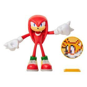 Φιγούρα Knuckles με Αξεσουάρ 10εκ. (Sonic)