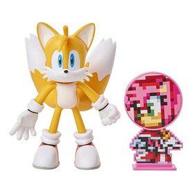 Φιγούρα Tails με Αξεσουάρ 10εκ. (Sonic)