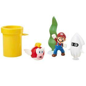 Φιγούρες Super Mario Underwater Diorama Σετ (Super Mario)