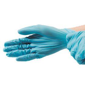 Γάντια Βινιτρυλίου Συνθετικά μίας Χρήσης Μπλε XL 100τεμ.