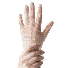 Γάντια Βινυλίου Μίας Χρήσης Διάφανα L 100τεμ.