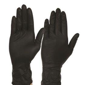 Γάντια Βινυλίου μίας Χρήσης Μαύρα L 100τεμ.