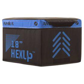 Πλειομετρικό Κουτί Εξάγωνο Amila HEXUP 45εκ.