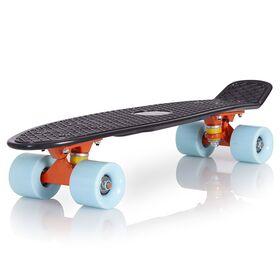 Skateboard Plastic BlackSky Ενισχυμένο με Τροχούς PU & ABEC-7