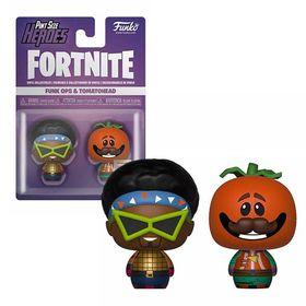 Pint Size Heroes Σετ Φιγούρες Funk Ops & Tomatohead (Fortnite)
