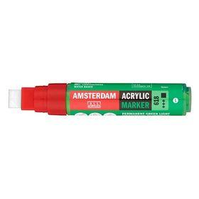 Talens Amsterdam Ακρυλικός Μαρκαδόρος 15mm GREEN LIGHT