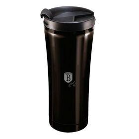 Θερμός Παγούρι Καφέ Ανοξείδωτο 0,5lt Μαύρο Berlinger Haus BH-6821