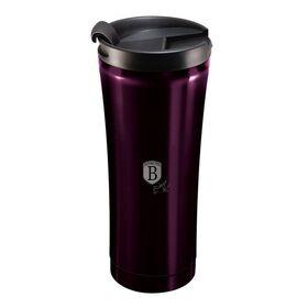 Θερμός Παγούρι Καφέ Ανοξείδωτο 0,5lt Μωβ Berlinger Haus BH-6816