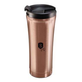 Θερμός - Παγούρι Καφέ Ανοξείδωτο 0,5lt Rose Gold Berlinger Haus BH-6488
