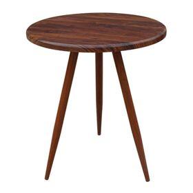Τραπέζι Στρόγγυλο NATURALE Καρυδί Υ70xØ60εκ.