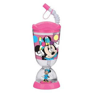 Ποτήρι Μελαμίνης με Χιονόμπαλα Minnie Mouse