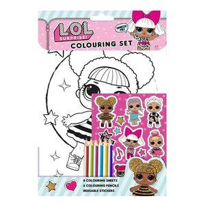 Lol Surprise Colouring Set