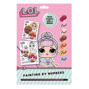 Lol Surprise Paint by Numbers A4