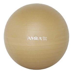 Μπάλα Γυμναστικής Amila Anti-Burst 55εκ. Χρυσή