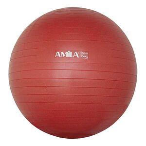 Μπάλα Γυμναστικής Amila Anti-Burst 65εκ. Κόκκινη