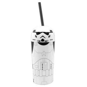 Ποτήρι με Καλαμάκι Star Wars EP7 Storm Trooper