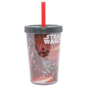 Ποτήρι με Καλαμάκι Star Wars EP7 Kylo Ren