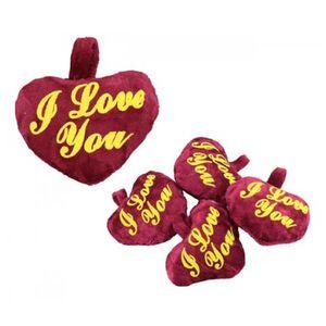Λούτρινη Καρδιά I Love You 9εκ.