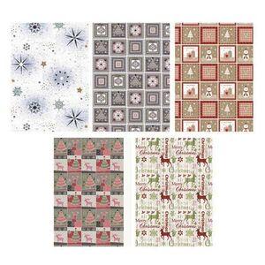Χαρτί Περιτυλίγματος Ρολό 70x100εκ. Χριστουγεννιατικο Mix 2