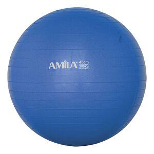 Μπάλα Γυμναστικής Amila Gymball 45εκ. Μπλε Bulk