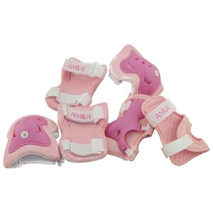 Σετ Προστατευτικά Ροζ Medium Amila