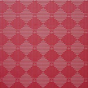 Στρώμα Πολεμικών Τεχνών 100x100x2.5εκ. Κόκκινο/Μπλε