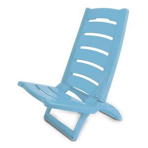 Καρεκλάκι Παραλίας Πλαστικό Γαλάζιο (289AZ)