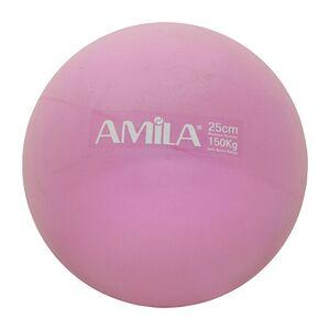 Μπάλα Pilates Amila 25cm Ροζ Bulk