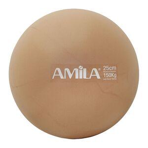 Μπάλα Pilates Amila 25cm Χρυσό Bulk