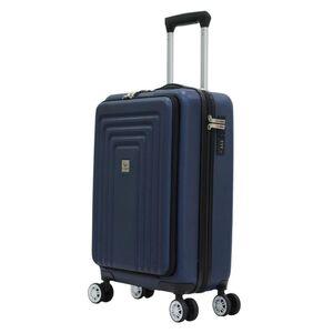 Βαλίτσα Καμπίνας Χειραποσκευή Τρόλευ Herzberg HG-8065BLU Μπλε