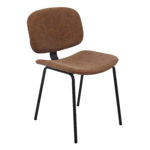 Καρέκλα BARLEY Vintage Καφέ Υ79x45x52εκ.