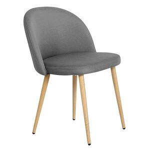 Καρέκλα BELLA Γκρι Υ77x54x56εκ.