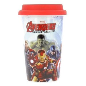 Ποτήρι Avengers με Καπάκι