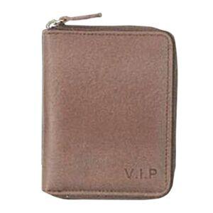 Πορτοφόλι VIP Καφέ Comix 11.5x9x2εκ.