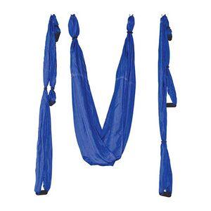 Κούνια Αέριαλ Γιόγκα Αντιβαρυτική Amila 5x1,5εκ. Μπλε